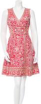 Naeem Khan Embroidered Mini Dress