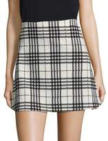 Design Lab Lord & Taylor Plaid Skirt