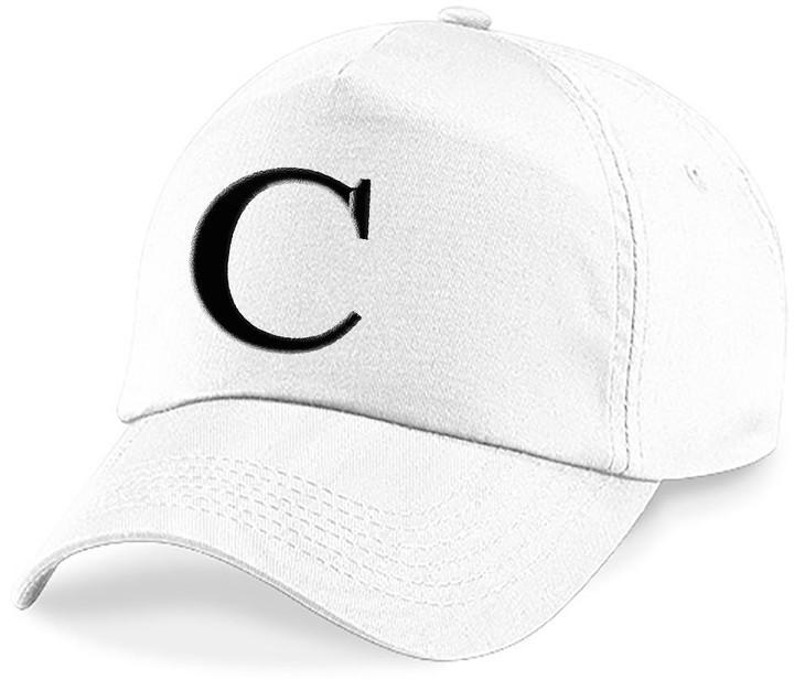 Letter A Z Baseball Caps Hat Girls Boys Children Kids Summer Sun