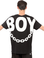 Boy London Boy Chain Printed T-Shirt