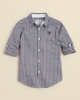 GUESS Boys' Gingham Woven Shirt - Sizes S-XL