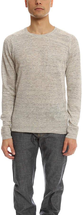 Todd Snyder Saddle Pocket Crewneck Sweater