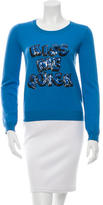 Markus Lupfer Embellished Wool Sweater w/ Tags