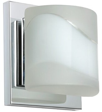 Orren Ellis Marquard 1-Light Mini Flush Mount Bulb Type: LED