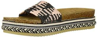 LFL by Lust for Life Women's LL-Pike Wedge Sandal 6 Medium US