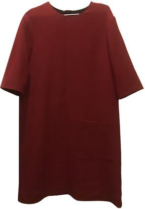 Marni Red Wool Dresses