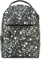 Christian Dior splatter pattern backpack