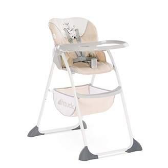 Disney Hauck Sit'n Fold Adjustable Highchair From 6 Months, Removable Depth-Adjustable Tray, Adjustable Backrest, Large Basket, Folding High Chair for Toddlers, Pooh Cuddles