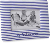 Bed Bath & Beyond My First Vacation Baby Picture Frame in Blue