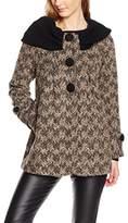 Molly Bracken Women's P451A16 Coat,UK