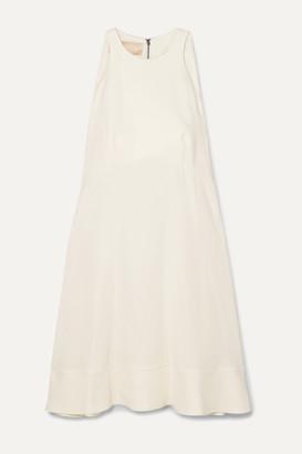 Antonio Berardi Crepe Mini Dress - Ivory