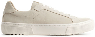 Arket Suede Court Trainers