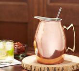 Pottery Barn Copper Pitcher