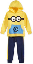 Nannette 2-Pc. Minion Hoodie & Pants Set, Toddler Boys (2T-4T) & Little Boys (2-7)