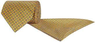 Stefano Ricci Silk Tie and Pocket Square Set