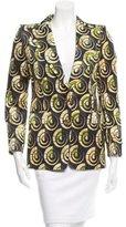 Dries Van Noten Silk Printed Blazer w/ Tags