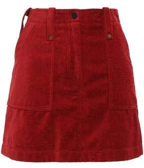 McQ Velvet Mini Skirt