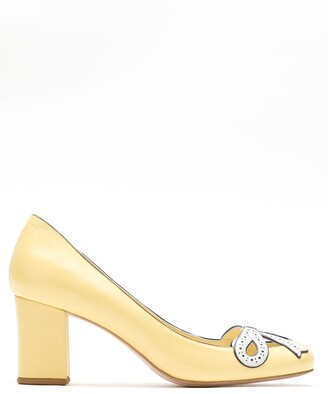 Sarah Chofakian Audrey leather pumps