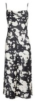 Dorothy Perkins Womens Black Tie Dye Slip Dress, Black
