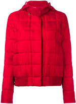 Moncler Gamme Rouge hooded jacket - women - Silk/Feather Down/Polyamide/Polyester - 0
