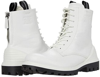 Ecco Tredtray High-Cut Boot (White) Women's Boots
