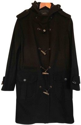 Surface to Air Black Wool Coats