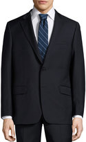 Hickey Freeman Classic Wool Two-Piece Suit, Navy