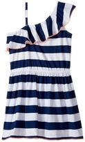 Tommy Hilfiger Yarn-Dye One Shoulder Dress Girl's Dress