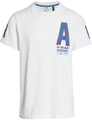 G Star Logo Graphic T-Shirt