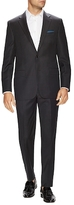 Hickey Freeman Pinstripe Wool Notch Lapel Suit