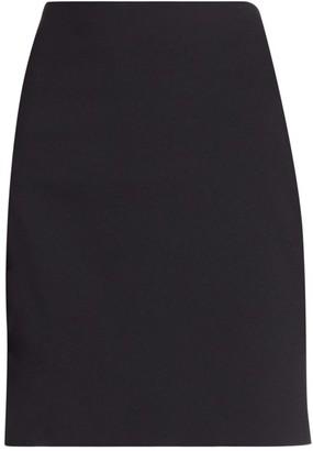 Akris Punto Elements Jersey Mini Skirt