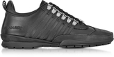 DSQUARED2 Black Leather Sneaker