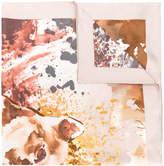 Salvatore Ferragamo animal print scarf