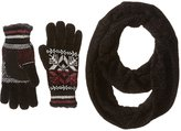 Isotoner Women's Chenille Scarf and Glove Gift Set