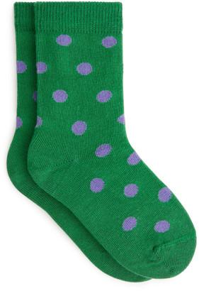 Arket Polka Dot Socks