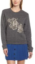 American Retro Women's PLASTRON SWEATER Logo Round Collar Long sleeve Sweater - -
