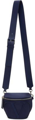 Valentino Navy Garavani VLogo Belt Bag