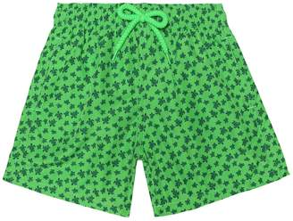 Vilebrequin Kids Jihin printed swim trunks