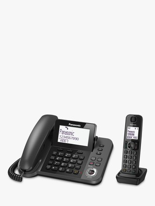 Panasonic KX-TGF320EM Combo Phones and Answering Machine with Nuisance Call Blocker, Single DECT