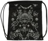 Givenchy Printed Black Nylon Back-sack