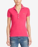 Polo Ralph Lauren Skinny Stretch Mesh Polo Shirt