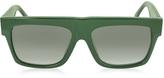 Celine CL 41066/S Small ZZ Green Acetate Women's Sunglasses
