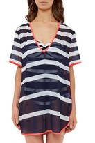 Ted Baker Striped Tunic Swim Cover-Up