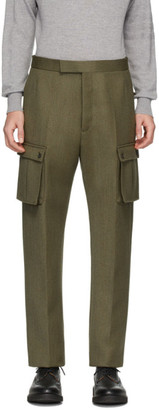 Thom Browne Green Norfolk Cargo Pants