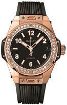 Hublot Big Bang One Click18k King Gold Diamonds Watch