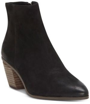 Vince Camuto Women's Grasem Stacked Heel Booties Women's Shoes