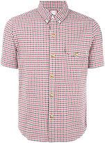 Moncler Gamme Bleu checked short sleeve shirt