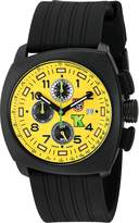 Luminox Men's 1105 Tony Kanaan PC Carbon Chrono Analog Quartz Watch, Black