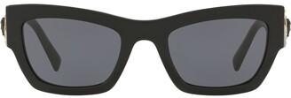 Versace Studded Cat-Eye Frame Sunglasses