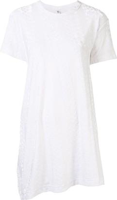 Y's asymmetric longline T-shirt